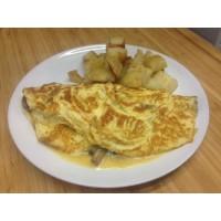 omelette herbe fraiche
