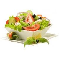 L'oeuf mollet et petite salade verte