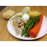 Gratin de cannellonis à la tomate , farce à la brousse et aux épinards