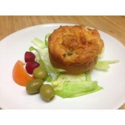 Muffin jambon olive fromage kiri