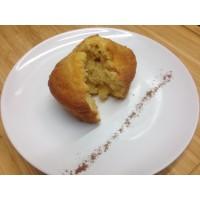 Gâteau moelleux poires caramel spéculos