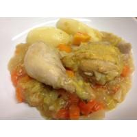 Marmitte de poulet aux légumes d'automne