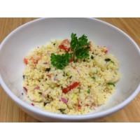 Taboulet au boulgour,quinoa et poulet