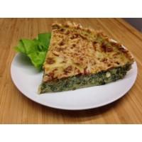 Tarte emmental gorgonzola tomate épinards nouvelle recette